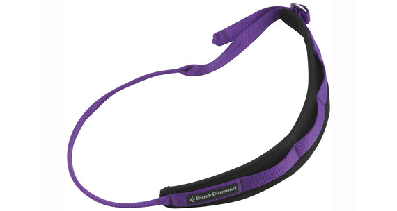 Black Diamond Padded Gear - Escalas y cintas - violeta